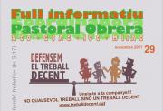 Butlletins de la Pastoral Obrera de Barcelona i de l'MMTC