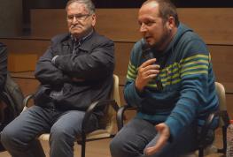 David Fernàndez i Joan Guerrero debaten, convidats per l'ACO, sobre la post-veritat