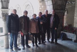 El Comitè Permanent visita el cardenal arquebisbe Omella