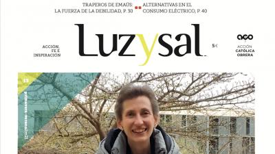 Laia de Ahumada y el acompañamiento de la muerte y el duelo, en la revista «Luzysal» de ACO