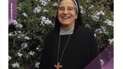 «Salillum» n. 12 amb l'abadessa Esperança Atarés